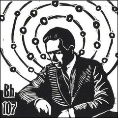 Niels Bohr Woodcut