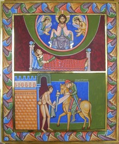 384328_romanesque-icon-of-st-martin-and-the-beggar