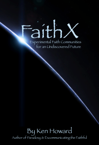 FaithX Book Cover - Undiscovered Future
